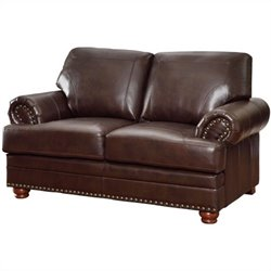 Coaster Colton Loveseat in Brown