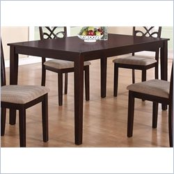 Coaster Cara Dining Table in Dark Cherry