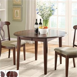 Coaster Liam Oval Top Formal Dining Table in Cherry
