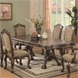 ADD TO YOUR SET: Coaster Andrea Double Pedestal Dining Table in Brown Cherry