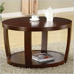 Coaster Cedar Crest Coffee Table in Cherry