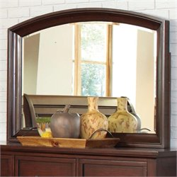 Coaster Hannah Dresser Mirror in Brown Cherry