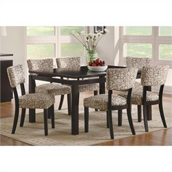 Coaster Libby Dining Set In Cappuccino