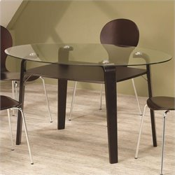Coaster Orval Dining Table in Cappuccino