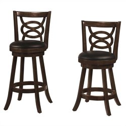 Coaster Upholstered Bar Stool in Cappuccino - 24