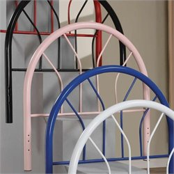 Coaster Youth Headboards Twin Metal Headboard in Pink