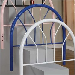 Coaster Youth Headboards Twin Metal Headboard in Blue