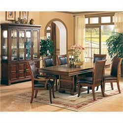 Coaster Westminster 7 Piece Dining Set in Cherry