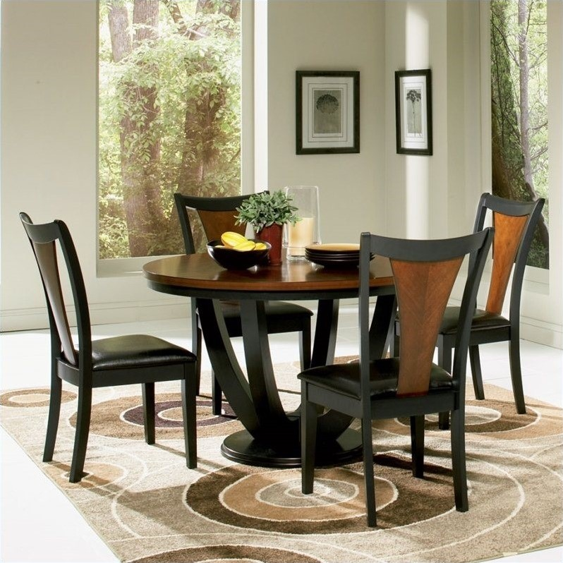 Stanton Counter Height Dining Table In Black: Chania