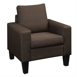 Coaster Bachman Fabric Chair in Chocolate