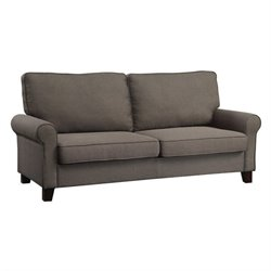 Coaster Noella Fabric Sofa in Grey