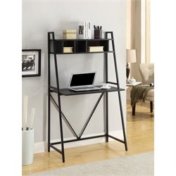 Coaster All in One Writing Desk in Black