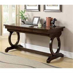Coaster Enedina Home Office Desk in Chestnut