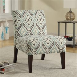 Coaster Casual Style Accent Chair in Beige