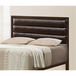 Coaster Remington King Size Upholstered Headboard in Cappuccino