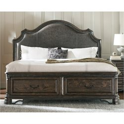 Coaster Carlsbad King Storage Bed with Drawers in Vintage Espresso