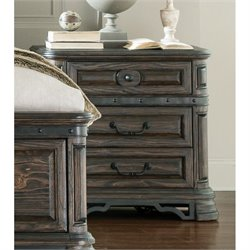 Coaster Carlsbad 3 Drawer Nightstand in Vintage Espresso