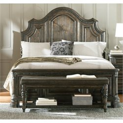 Coaster Carlsbad Panel Bed in Vintage Espresso