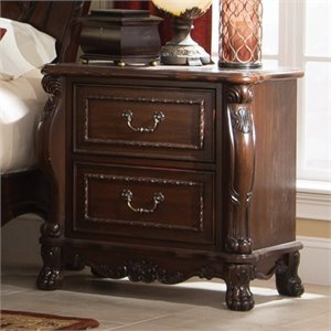 Coaster Abigail 2 Drawer Nightstand in Cherry