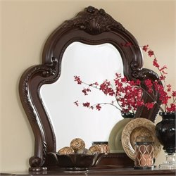 Coaster Abigail Mirror in Cherry