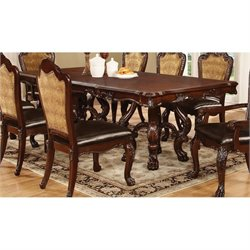 Coaster Benbrook Dining Table in Dark Cherry
