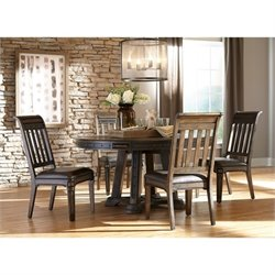 Coaster Carlsbad 5 Piece Dining Set in Vintage Espresso