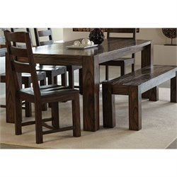 Coaster Calabasas Dining Table in Dark Brown