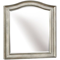 Coaster Bling Game Vanity Mirror in Metallic Platinum