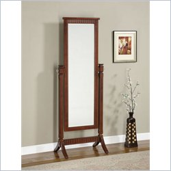 Powell Furniture Merlot Contemporary Cheval Floor Mirror