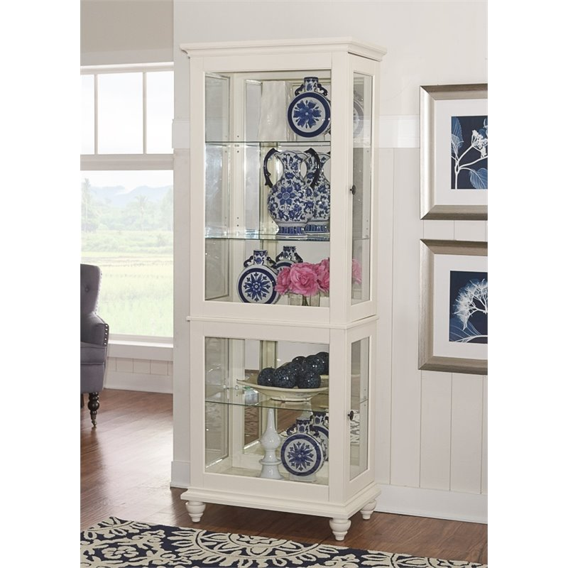 cabinet sliding from console curio dutchcrafters pid amish small frame p picture door