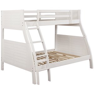 Powell Easton Bunk Bed in White