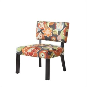 Powell Accent Chair in Bright Floral Print