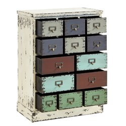 Powell Furniture Parcel 13 Drawer Cabinet