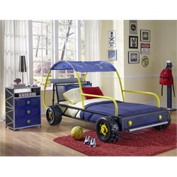 Powell Furniture Dune Buggy Car Twin Bed