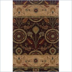 Powell Furniture Bombay Rug Kerala in Brown - 2 x 3