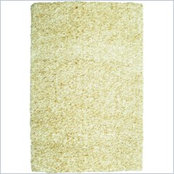 Powell Furniture Bombay Luxe Shag Rug in Sand - 2 x 3