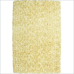 Powell Furniture Bombay Luxe Shag Rug in Beige - 2 x 3