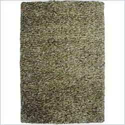 Powell Furniture Bombay Luxe Shag Rug in Nori - 2 x 3