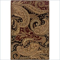 Powell Furniture Bombay Rug Paisley in Multi-Color - 2 x 3