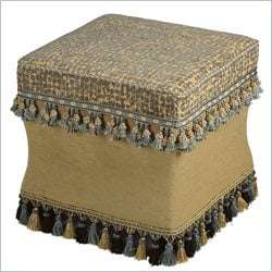 Powell Bombay Barcelona Ottoman in Multi Colored