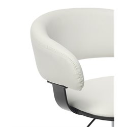 Powell Furniture Gas Lift Desk Chair in White