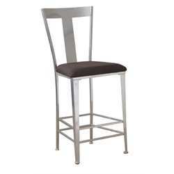 Powell Furniture Barstool in Silver