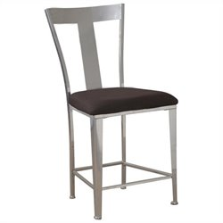 Powell Furniture Counter Stool in Silver