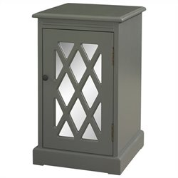 Powell Furniture Chippendale Table in Grey