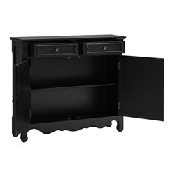 Powell Furniture Console Table in Black