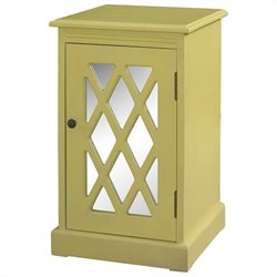 Powell Furniture Chippendal Cabinet in Honey Butter