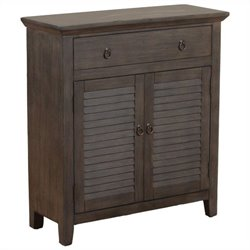 Powell Furniture Console Cabinet in Bronze