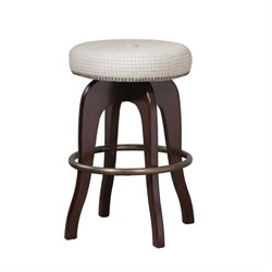 Powell Furniture 30'' Swivel Bar Stool in Java