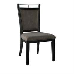 Powell Furniture Caden Dining Side Chair in Burnt Sienna (Set of 2)