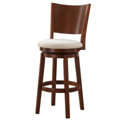 Powell Furniture Kinston 30'' Swivel Bar Stool in Oak